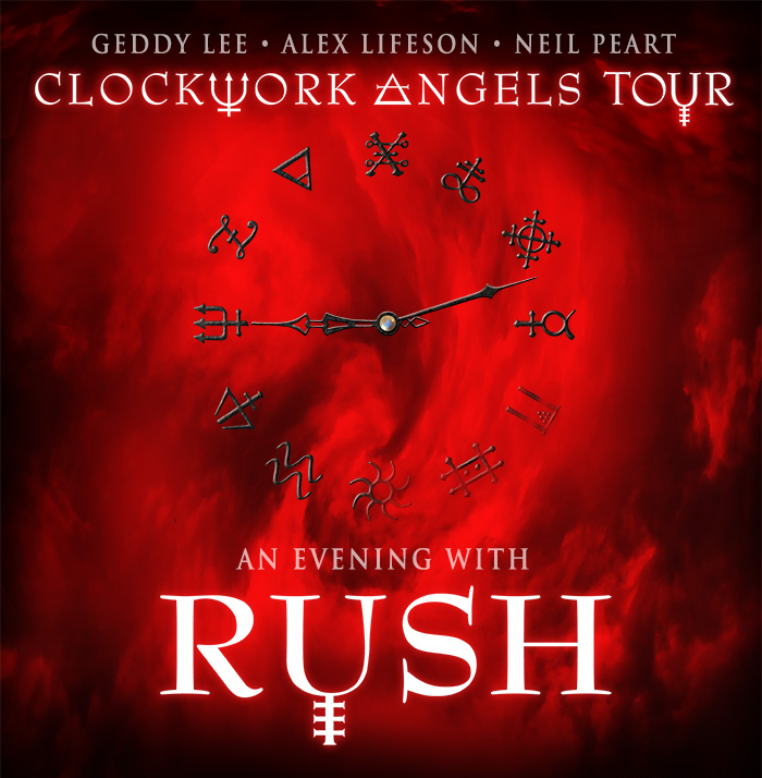 Rush Clockwork Angels Tour 2012