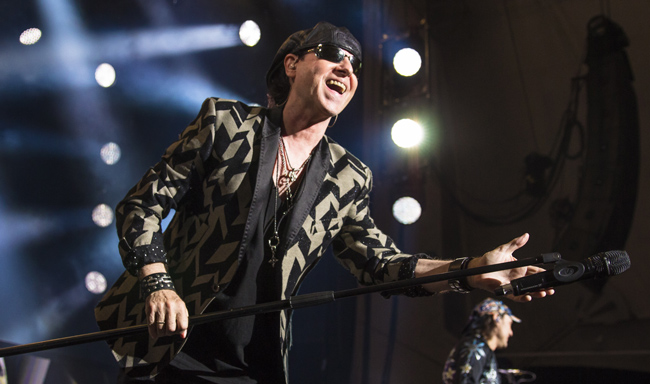 Scorpions at the Blue Hills Bank Pavilion - Review & Photos